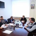 Секретарь Долгопрудненского отделения партии провела прием предпринимателей