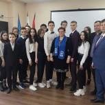 В рамках проекта «Старший брат» одинцовские партийцы приняли участие в дне молодого избирателя