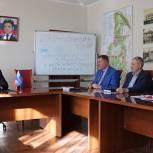 На партийном часе в Павловском Посаде обсудили вопрос обустройства территорий образовательных учреждений