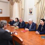 Хизри Шихсаидов встретился с Владимиром Семеновым