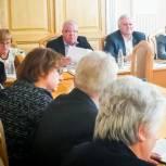 Литневская обсудила поправки в Конституцию с руководителями профсоюзов