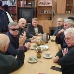 Ветераны Рузского городского округа обсудили с Владимиром Вшивцевым важные вопросы