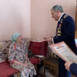 Партийцы продолжают вручать ветеранам юбилейные медали к 75-летию Победы