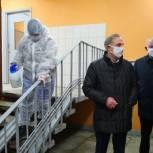Владимир Ружицкий проверил качество дезинфекции в поселке Томилино