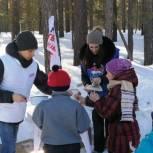 Молодогвардейцы Алтайского края вновь приняли участие в массовом катании на лыжах