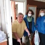 Жительница Кадома поблагодарила волонтеров местного отделения партии за помощь