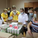 Волонтеры Павловского Посада приступили к формированию продуктовых наборов