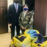 Депутат Самарской Губернской Думы Александр Милеев закупил защитные маски, сшитые по индивидуальному заказу