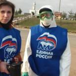 Партийцы Рязанского района продолжают помогать жителям Заокского и Коростова