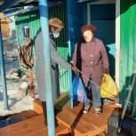 В период самоизоляции ветераны Аромашевского района получают постоянную помощь