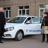Новый автомобиль неотложной медицинской помощи передан в ЦРБ Павловского Посада