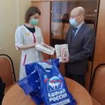 Депутат Электростальского городского совета депутатов помог медикам города