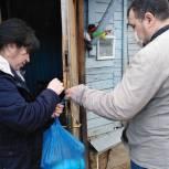 Шуйские партийцы помогают многодетным семьям с низкими доходами