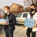 Луховицкие волонтеры обеспечили продуктами нуждающуюся семью