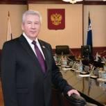 Борис Хохряков поздравил югорчан с Днем местного самоуправления
