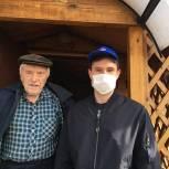 В Рыбновском районе волонтеры помогают ветеранам