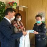 Юрий Кучаев и Татьяна Баринова оказали помощь ветеранским организациям Рязани