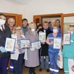 Набирает обороты акция «Спасибо врачам», организованная сторонниками партии «Единая Россия»