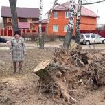 Спасские единороссы откликнулись на просьбу ТОС