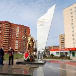 Партийцы Павловского Посада ведут контроль за ремонтными работами на мемориалах Великой Отечественной войны