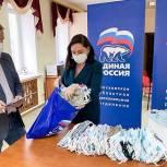 Дмитровские партийцы изготовили более 100 масок для ветеранов Великой Отечественной войны