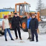 В горсовете Нарьян-Мара обсудили вопрос вывоза снега из города