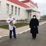 Татьяна Гусева передала сотрудникам рязанской БСМП средства индивидуальной защиты