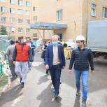 Владимир Ружицкий оценил ход работ по перепрофилированию Красковской больницы под COVID-19
