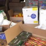 Для магаданских медиков передали партию продуктов