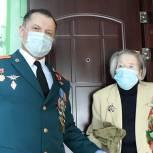 Игорь Мурог и Александр Жукаев поздравили участников Великой Отечественной войны с наступающим праздником