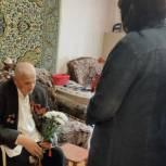 Княжпогостские единороссы поздравили ветеранов с 75-годовщиной Победы