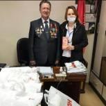 Совету ветеранов Ленинского района партиец передал подарки ко Дню Победы