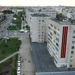 Акцию «Георгиевская лента на фасаде» поддержали в 67 регионах страны