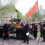 В Павловском  Посаде партийцы поздравили ветеранов с 9 мая