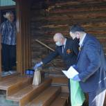 Ветеранов Юргинского района поздравили с 75-летием Победы