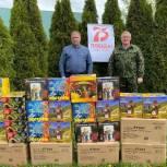 Ветеранам Чучковского, Шацкого и Ухоловского районов вручили продуктовые наборы