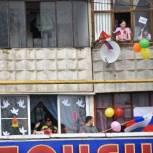Сасовцы приняли участие в акции «Окна Победы»