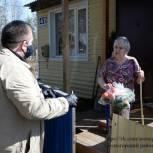 Волонтерский штаб Сосногорского района продолжает оказывать адресную помощь в условиях пандемии