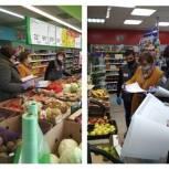 «Народный контроль» обратил внимание на покупателей без перчаток в продуктовых магазинах