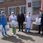 Дмитрий Шатохин поддержал акцию «Спасибо врачам»