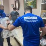 Волонтеры помогли приобрести новую мебель для Совета ветеранов