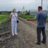 В Червишево благоустроят дорогу по просьбе местных жителей