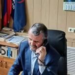 Владимир Шапкин ответил на вопросы жителей Щёлково по телефону