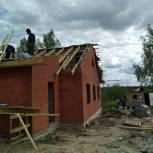 Участник праймериз проконтролировал строительство дома для многодетной семьи