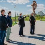В Михайлове продолжается благоустройство «Соборной горы»