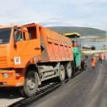 Сергей Носов посетил дорожные участки, на которых начались ремонтные работы