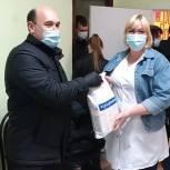 Акция «Спасибо врачам» прошла в Электрогорске