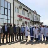 """Акция """"Спасибо Врачам"""" завершилась в Ингушетии с  передачей чайных наборов врачам г. Сунжа"""