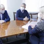 Алена Аршинова побывала с рабочим визитом в Красночетайском районе республики