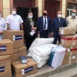 В Хасавюрт передали 300 комплектов СИЗ